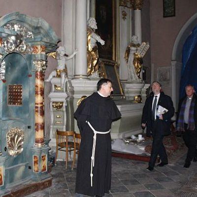 Freski odkryte u franciszkanów