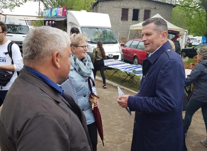 Kandydat na Targach Rolniczych i w Ostrowskim NKlubie
