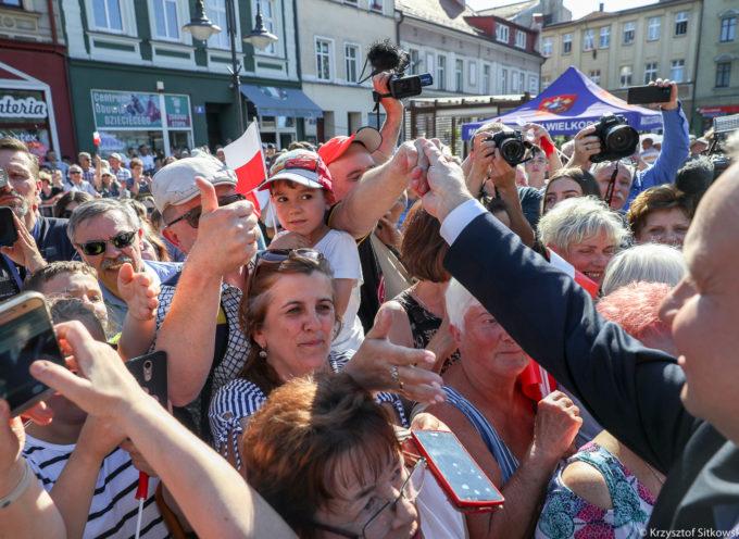 Prezydent w Ostrowie