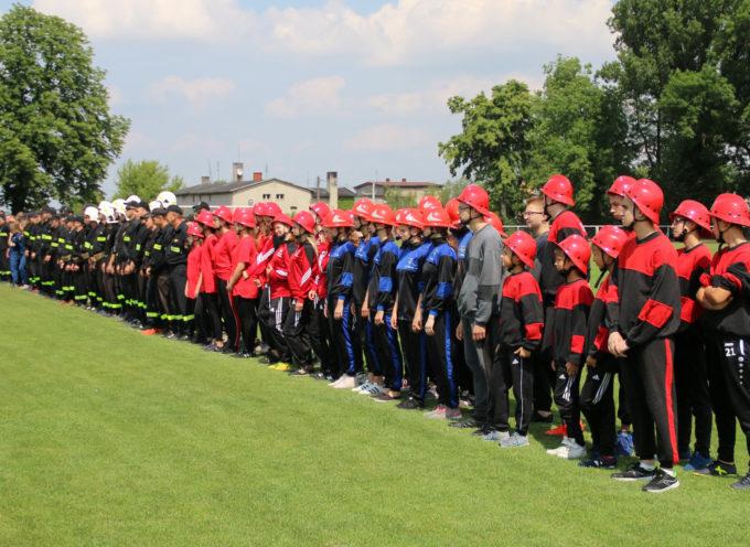 Zawody Sportowo-pożarnicze w Nowych Skalmierzycach