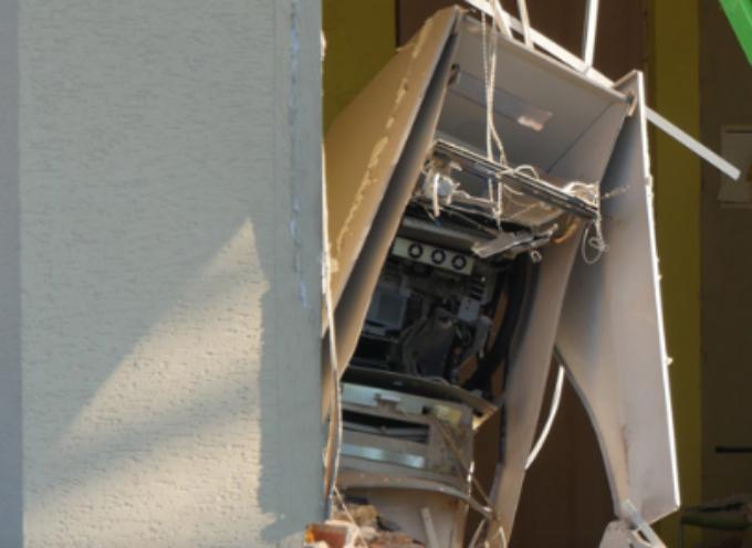 W Odolanowie w powietrze wyleciał bankomat
