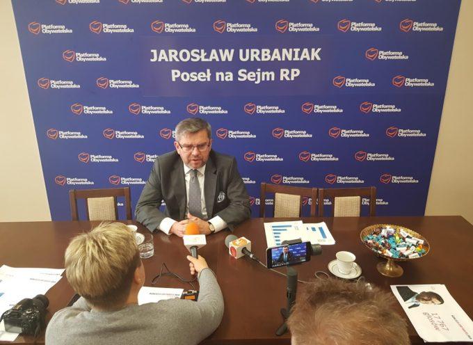 Jarosław Urbaniak, lider ostrowskiej Koalicji Obywatelskiej