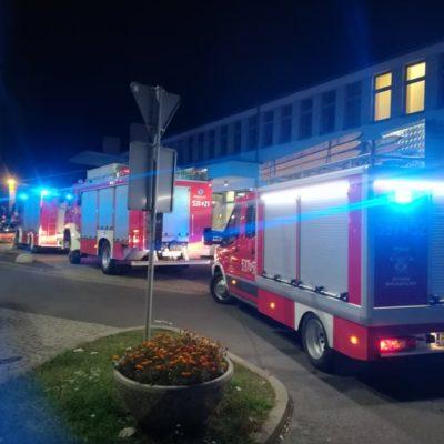 Wypadek na dworcu w Ostrowie