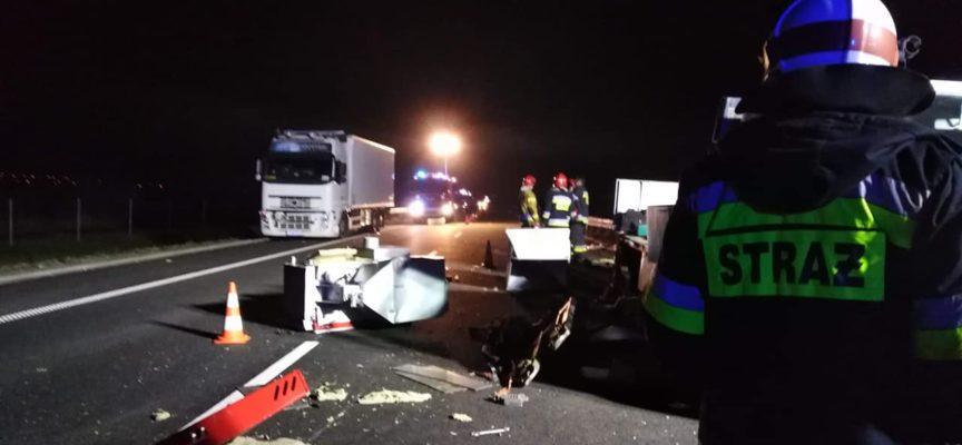 Wypadek na obwodnicy Ostrowa