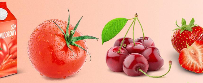 Znaczące kolory warzyw i owoców