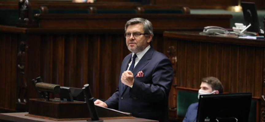 Na 200 stron ustawy, tylko strona o kryzysie – Jarosław Urbaniak w Sejmie