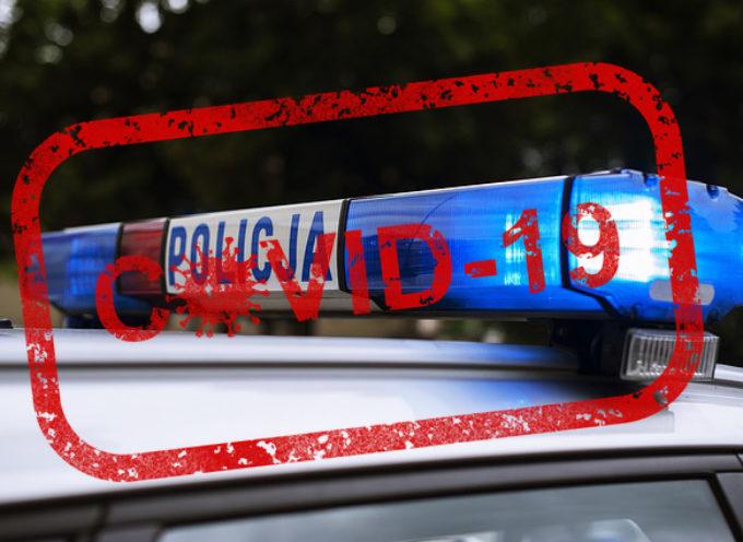 Siedmiu zakażonych policjantów – zamknięta komenda