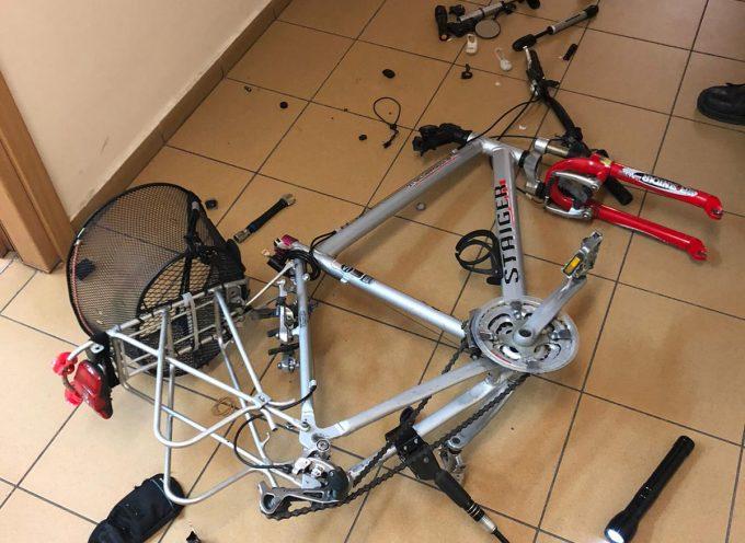 Rower z koksem