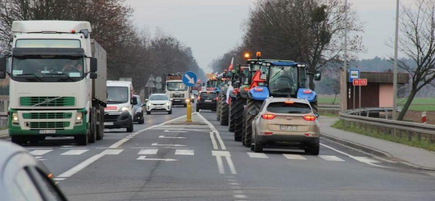 Rolnicy protestują przeciw PiS