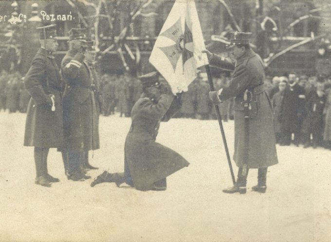 Złożenie przysięgi przez Wojska Wielkopolskie w Poznaniu.
