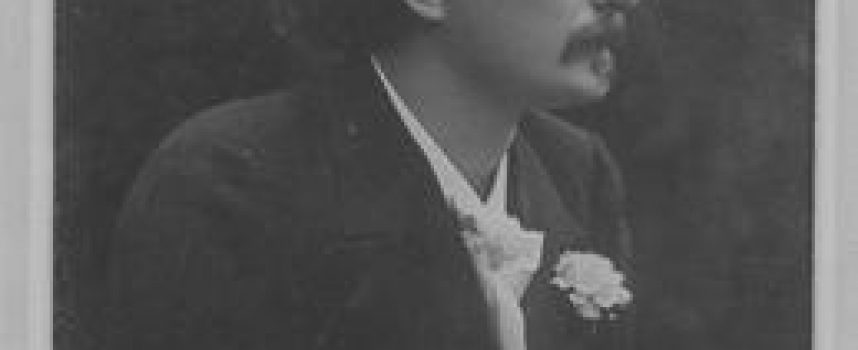 Ignacy Jan Paderewski w fotelu premiera.