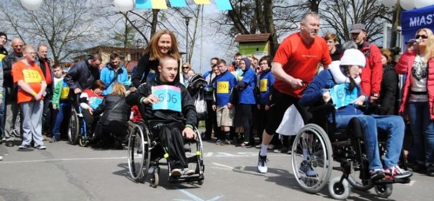 Maraton na wózkach, ale z uśmiechem