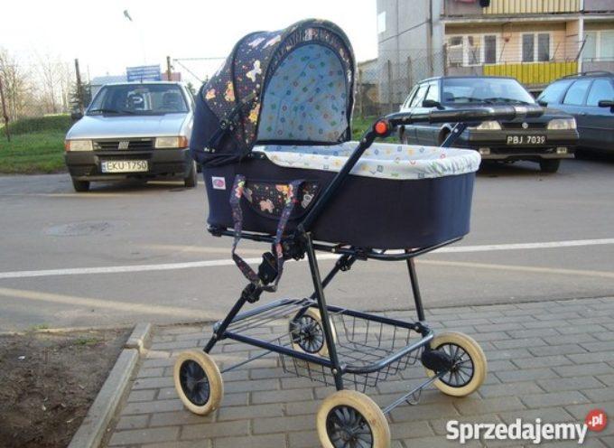 Skradł dziecięcy wózek i pieniądze