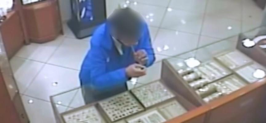 Połykacz biżuterii zatrzymany