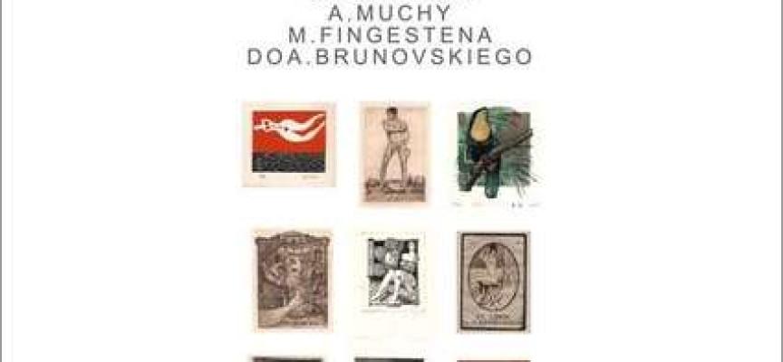 Ekslibrisy od Klimta do Muchy w Muzeum