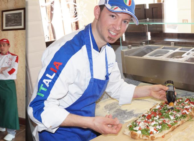 Mistrz Włoch i V-ce Mistrz Świata w pizzy otworzył  swoją pizzerię  w Ostrowie Wielkopolskim.