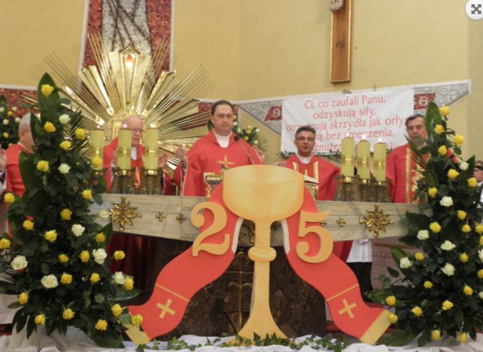 """""""Nasz"""" człowiek w Rzymie świętuje 25-lecie kapłaństwa"""