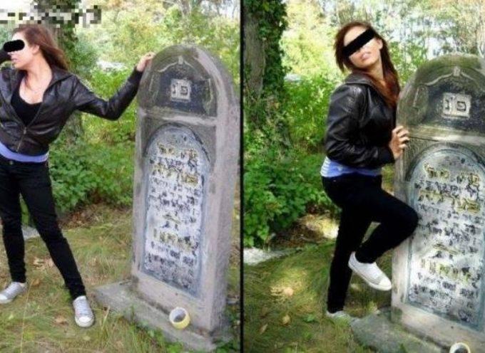 Znieważenie czy głupi wybryk na cmentarzu?