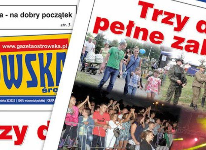 Przegląd prasy z Gazetą Ostrowską (29.07)
