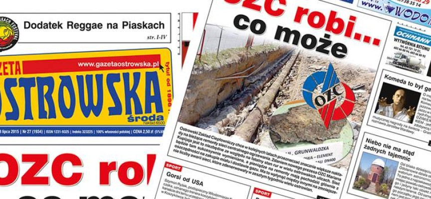 Przegląd prasy z Gazetą Ostrowską (08.07.2015)