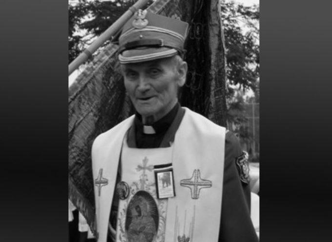 Zmarł ks. mjr Józef Grecki