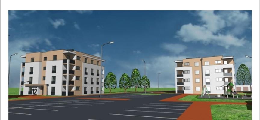 Powstaje drugi blok MZGM z 16 mieszkaniami dla młodych