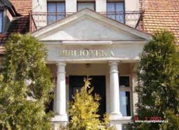Biblioteka w Gorzycach z większym metrażem