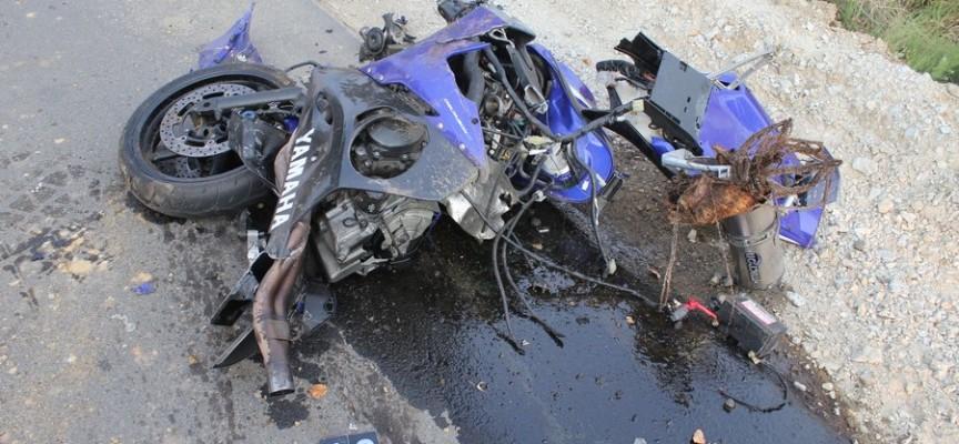 Motocykl rozerwało na kawałki. Nie żyje 21-letni chłopak