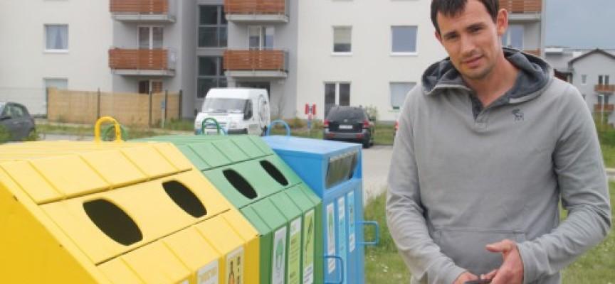 Marcin Lijewski zachęca do segregowania odpadów – akcja społeczna