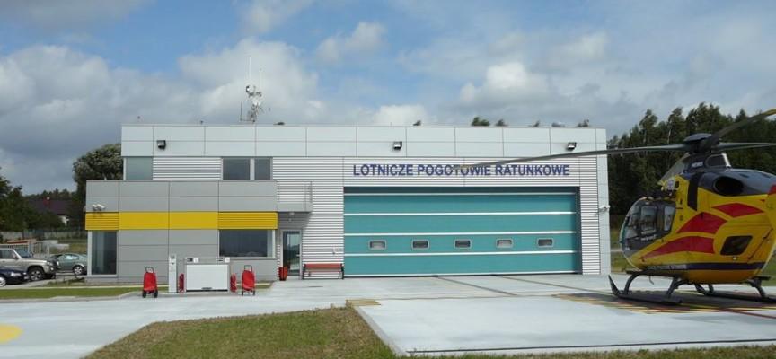 Wizualizacja Lotniczego Pogotowia w Michałkowie