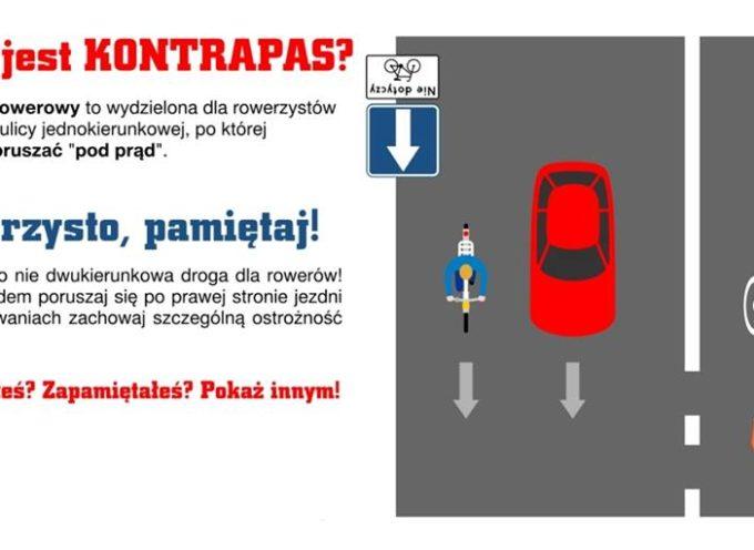 Uwaga kierowcy!!! Kontrapas na Wolności