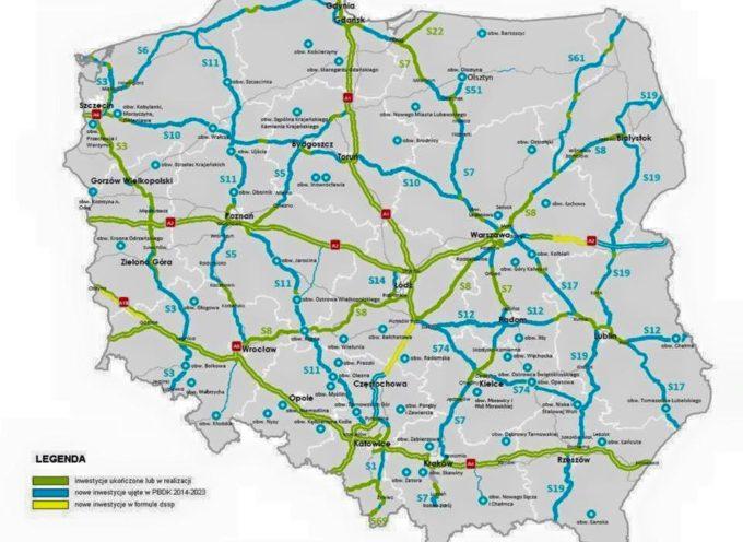Krajowa jedenastka z Kórnika do Ostrowa w planie budowy dróg