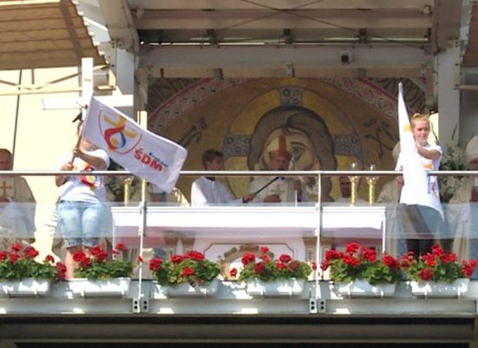Jasna Góra – pielgrzymkowa Msza Święta przed szczytem – czwartek 14 sierpnia