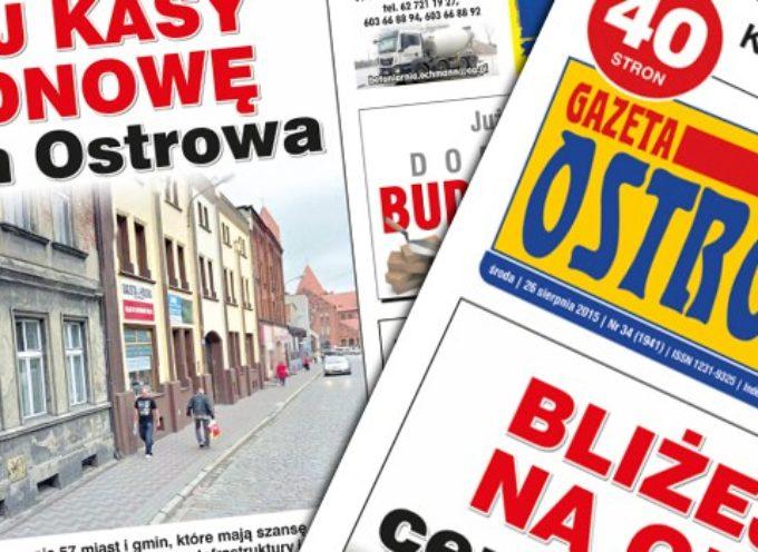 Przegląd prasy z Gazetą Ostrowską (26.08.2015)