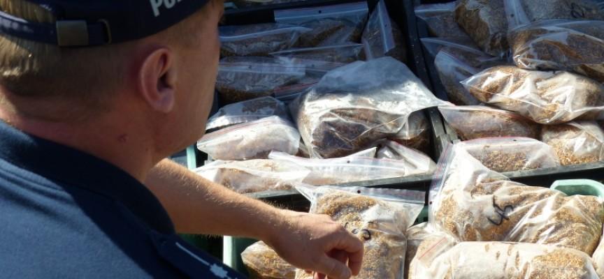 Kontrabanda w rękach kaliskich policjantów