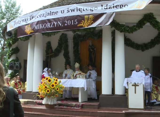 Dożynki Diecezjalne 2015 w Sanktuarium św. Idziego w Mikorzynie – retransmisja