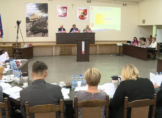 Początek obrad – XII Sesja Rady Miejskiej Ostrowa Wielkopolskiego
