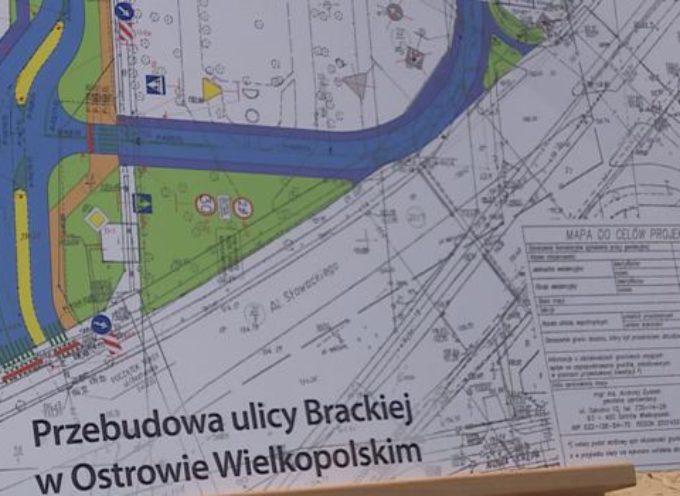 Przebudowa skrzyżowania ul. Kaliskiej, Brackiej i Nowa Krępa – konferencja