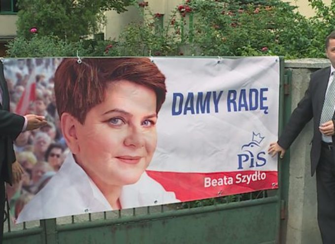 PiS w Ostrowie prezentuje hasło wyborcze