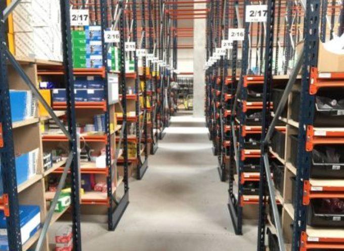 Otwarcie magazynu części zamiennych w Ostrowskim Parku Przemysłowym