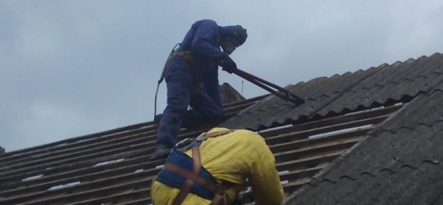Likwidacja azbestu w Ostrowie w statystyce