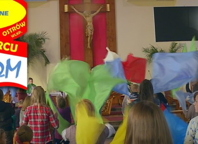 Msza św. na podsumowanie warsztatów taneczno – muzycznych  – parafia p.w. Ducha Świętego