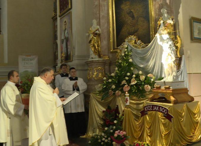 Nawiedzenie Figury Św. Michała Archanioła – powitanie retransmisja