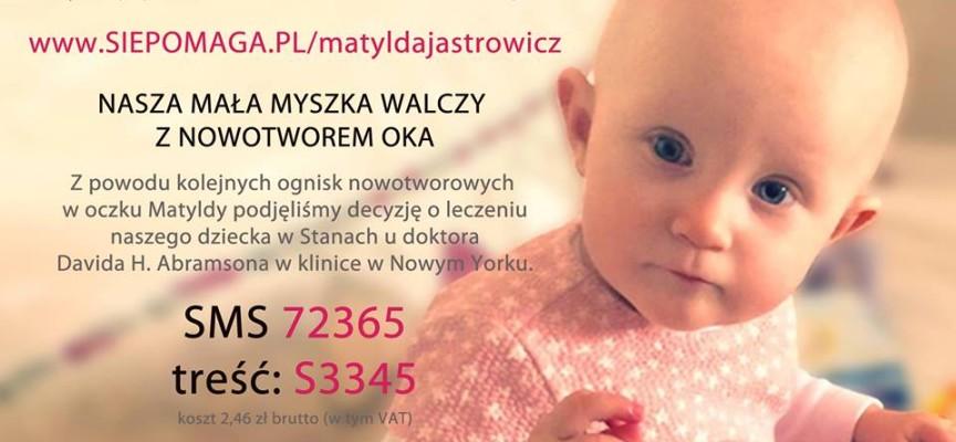 Internauci nie zawiedli Matyldy. Dzięki nim dostanie 100 tysięcy zł!