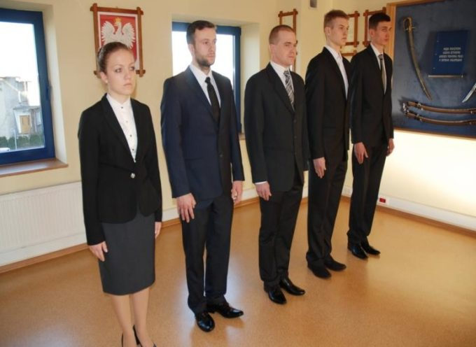 Pięcioro nowych policjantów w Ostrowie
