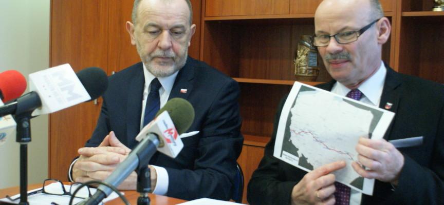 Poseł PIS Jan Mosiński na czele zespołu ds budowy drogi S12