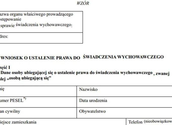 15 stron na dziś liczy wniosek o 500 złotych – w Ostrowie środki wypłaci MOPS