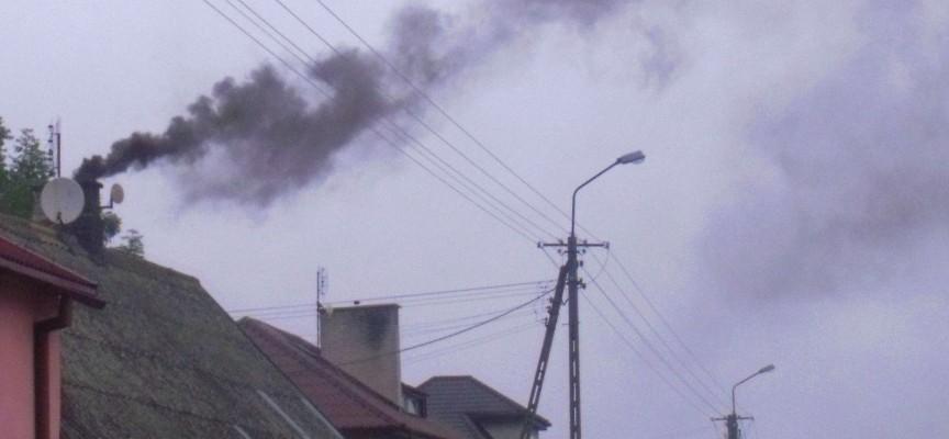 Zanieczyszczone powietrze nad Ostrowem