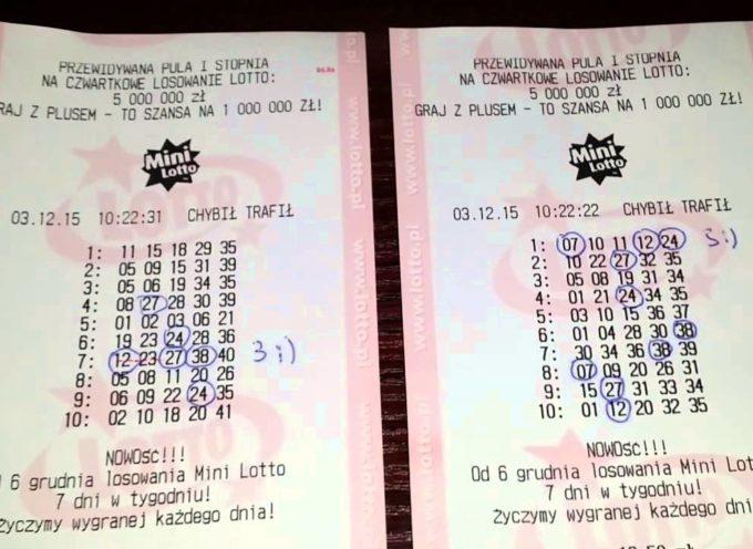 Mino Lotto trafione – nie takie jednak mini