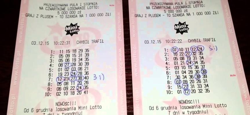 Wygrana Mini Lotto także w Ostrowie Wielkopolskim